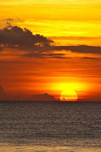 bali puesta sol