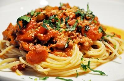 Recette spaghetti bolognaise alla varchetta sur - Cuisine italienne pates ...