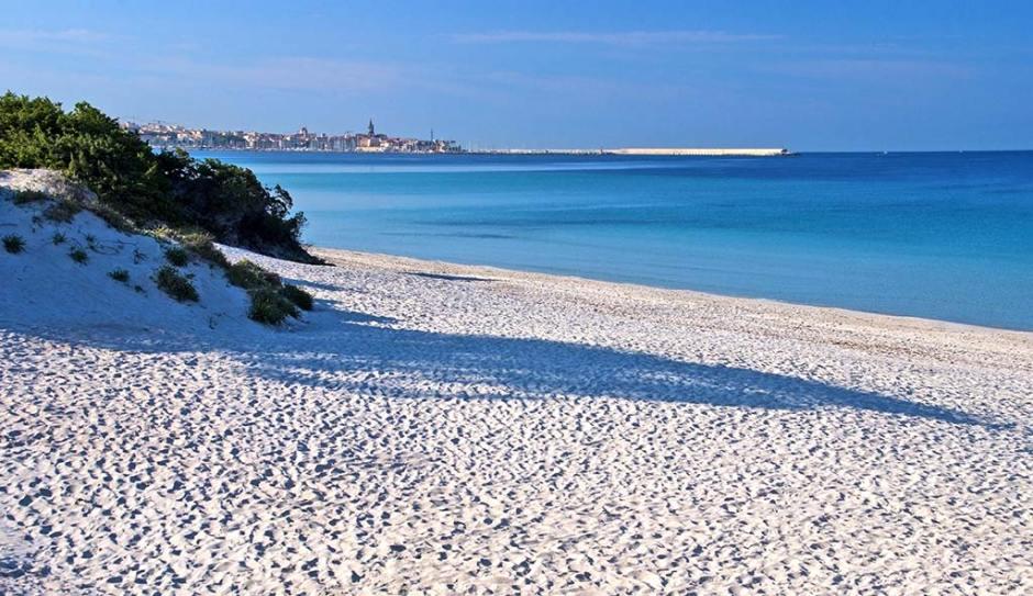 Praias na Sardenha, Itália.