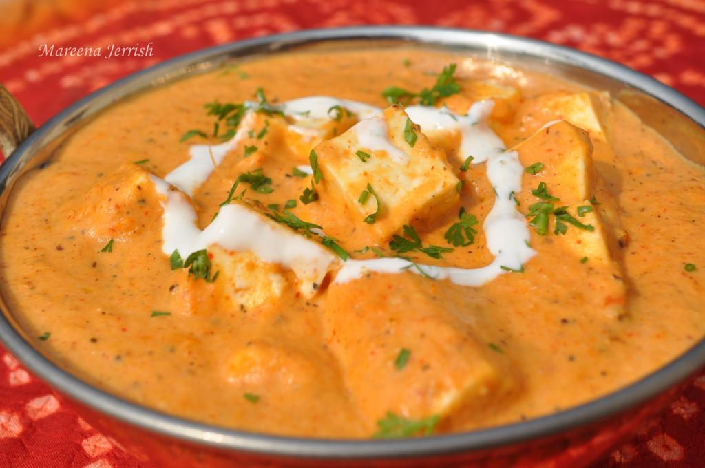 Shahi Paneer Recipe   Mareena s Recipe Collections Shahi Paneer