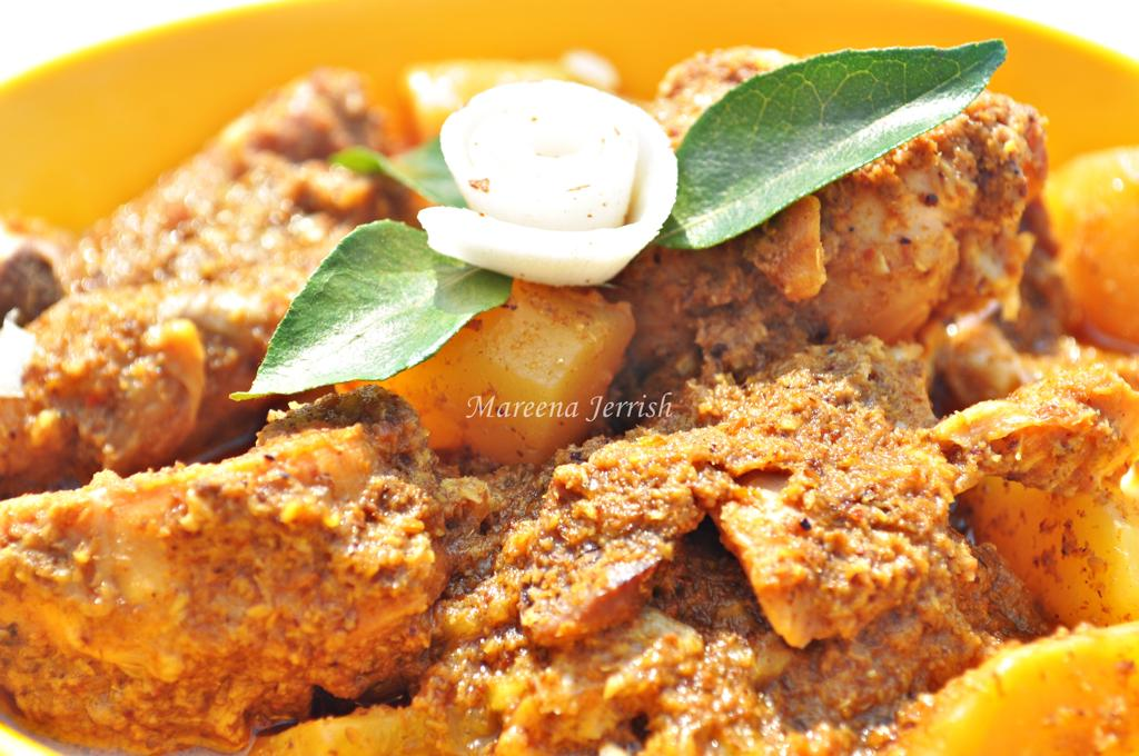 Goan chicken xacuti recipe mareenas recipe collections goan chicken xacuti forumfinder Gallery