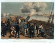 Bombardment of Bomarsund during the Crimean War
