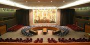 قاعة مجلس الأمن في نيويورك