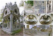 صورة تبين قبر أبلار و إلواز