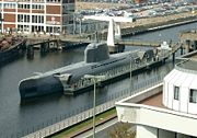 German Type XXI submarines, also known as