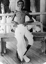 جندي هندي تابع للقوات البريطانية بعد حصار الكوت في العراق