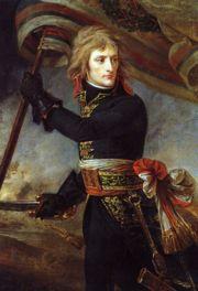 Napoleon at the Bridge of the Arcole, by Baron Antoine-Jean Gros, (ca. 1801), Louvre, Paris