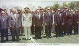 جنازة الجمسي. من اليمين: حسني مبارك, عاطف عبيد, .