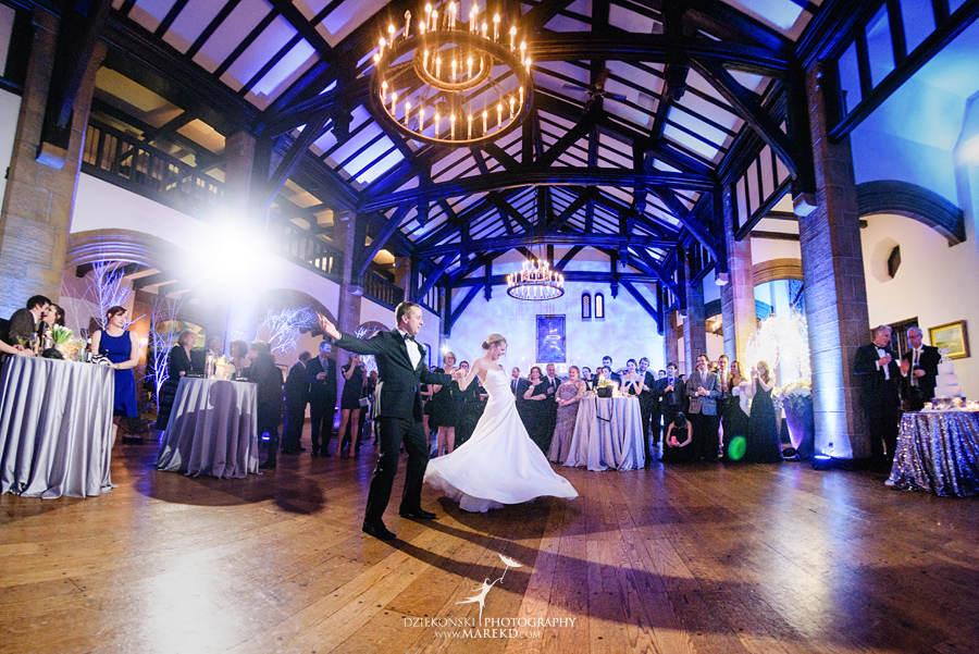 Kelly And JPs Winter Wonderland Wedding At Country Club