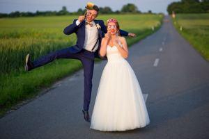 Szybki plener ślubny Magdy i Bartka