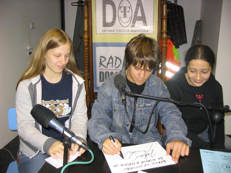 Jirka Mádl v Dětském rádiu Domino
