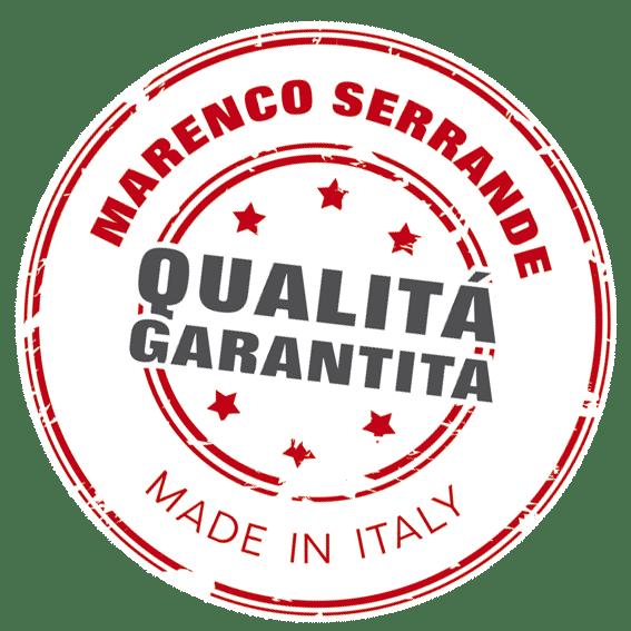 Qualità garantita Marenco