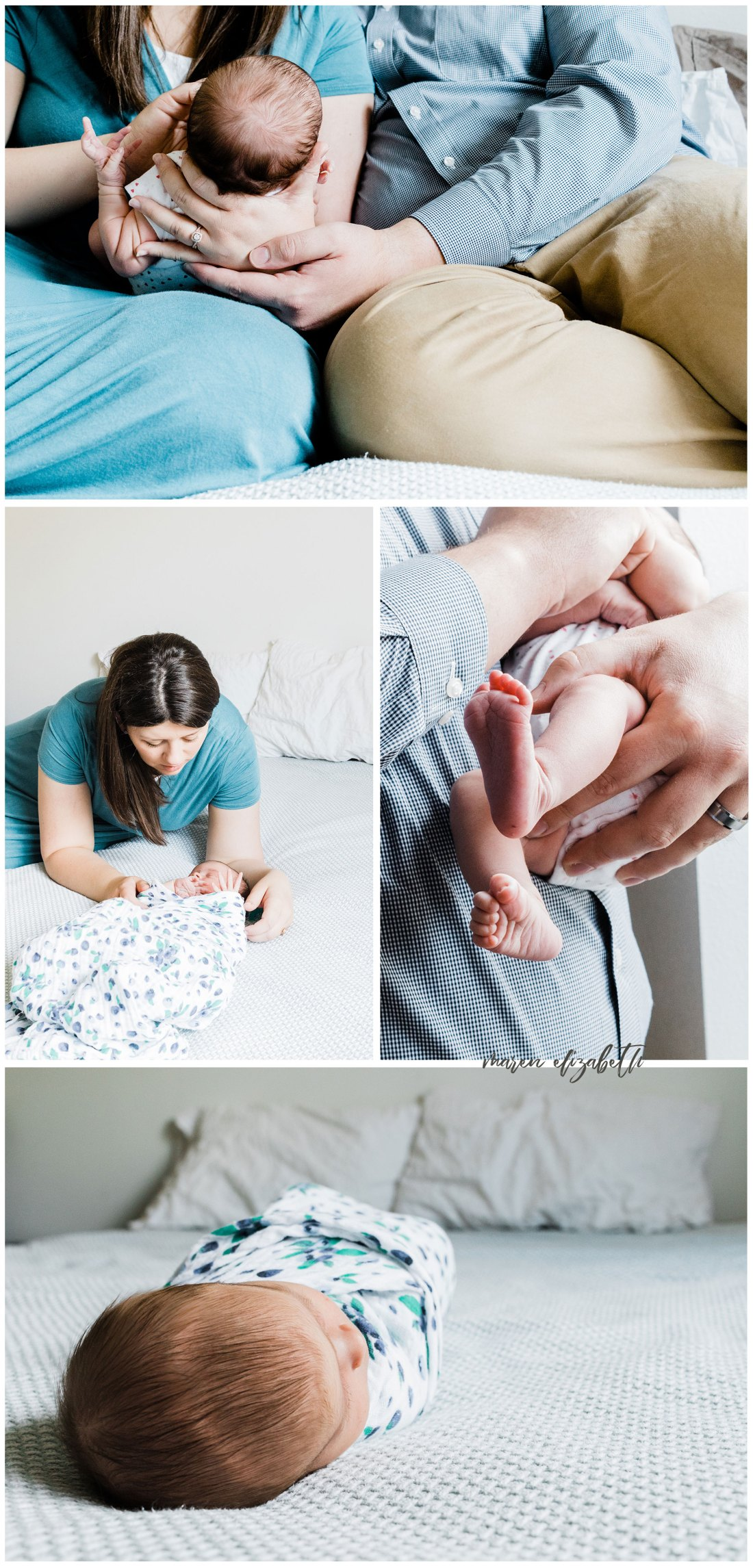 In-home Newborn Lifestyle Session