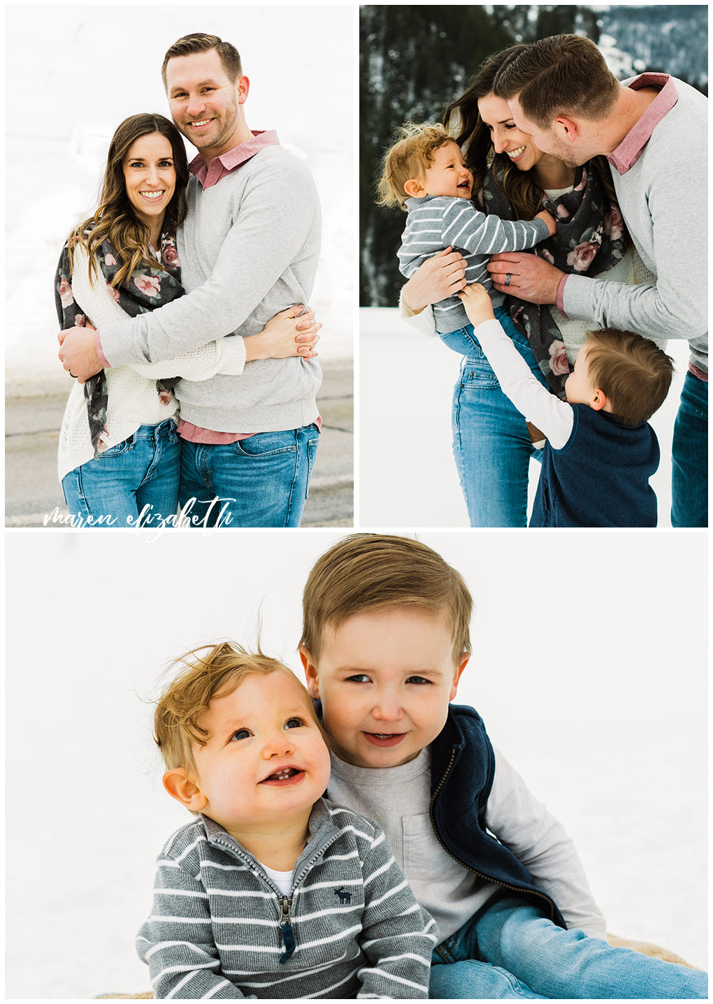 Tibble Fork Family Pictures - Utah Family Photographer