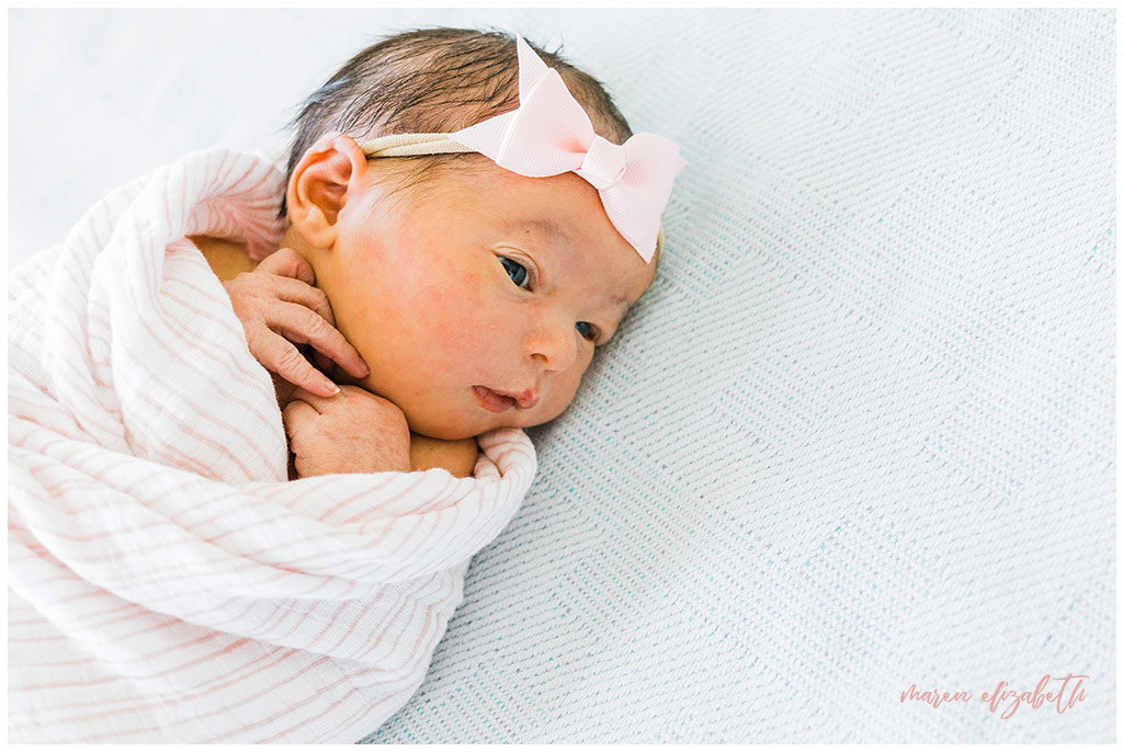 What is a Fresh 48? | It's a session that takes place at your delivery location within the first 48 hours of baby's life. It will help you remember your thoughts and feelings and the little things about your newborn that quickly fade. | Arizona Birth Photographer | Maren Elizabeth Photography