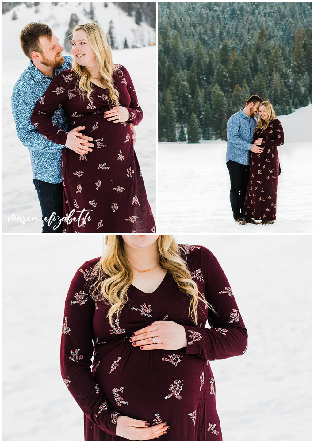 Tibble Fork Maternity Pictures