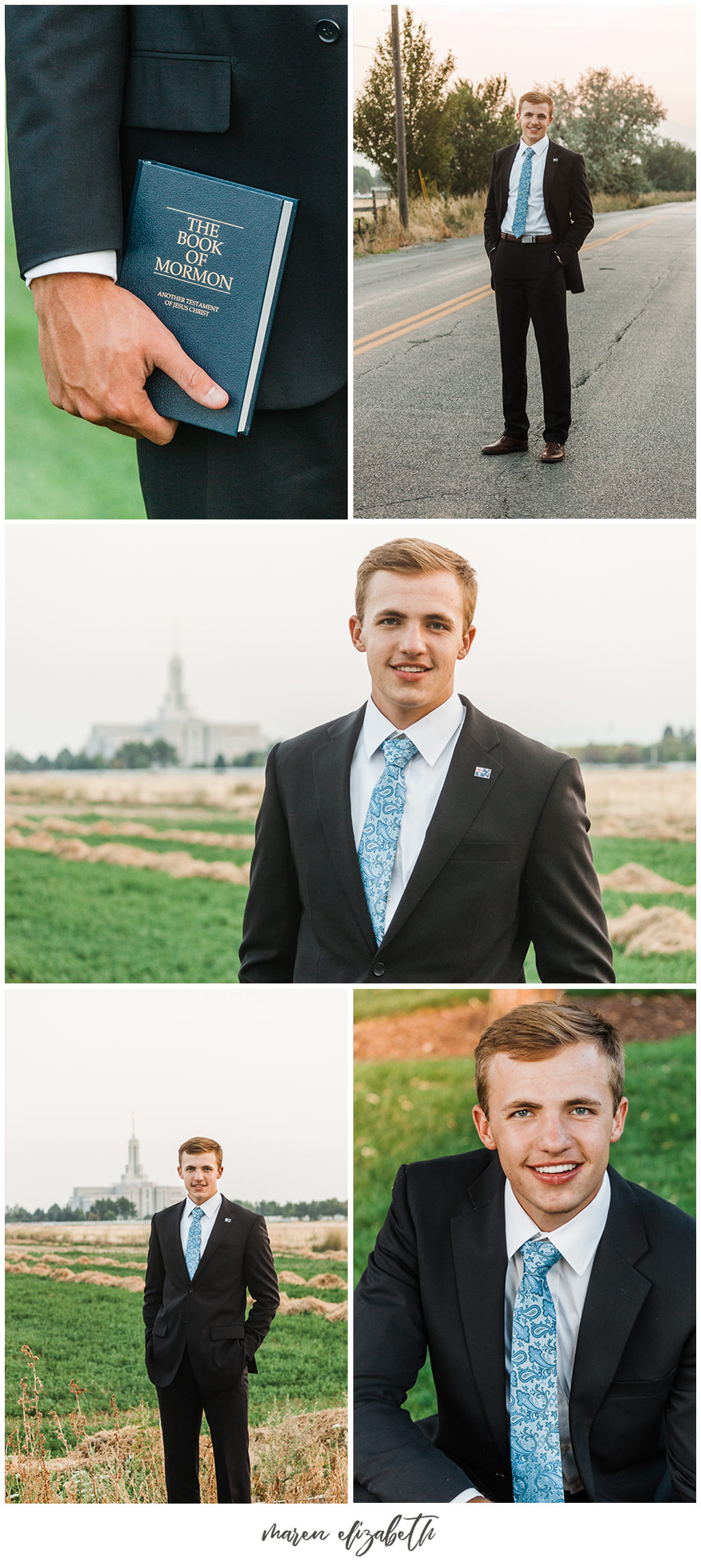 Since missionaries for the Church of Jesus Christ of Latter-day Saints can now serve when 18 I take a lot of Senior & Missionary pictures during the same session! Missionaries teach fundamental gospel truths that can change your life when you learn with real intent and put them to the test in your life. Find out more at Mormon.org. | Arizona Senior Photographer | Arizona Missionary Photographer | Maren Elizabeth Photography