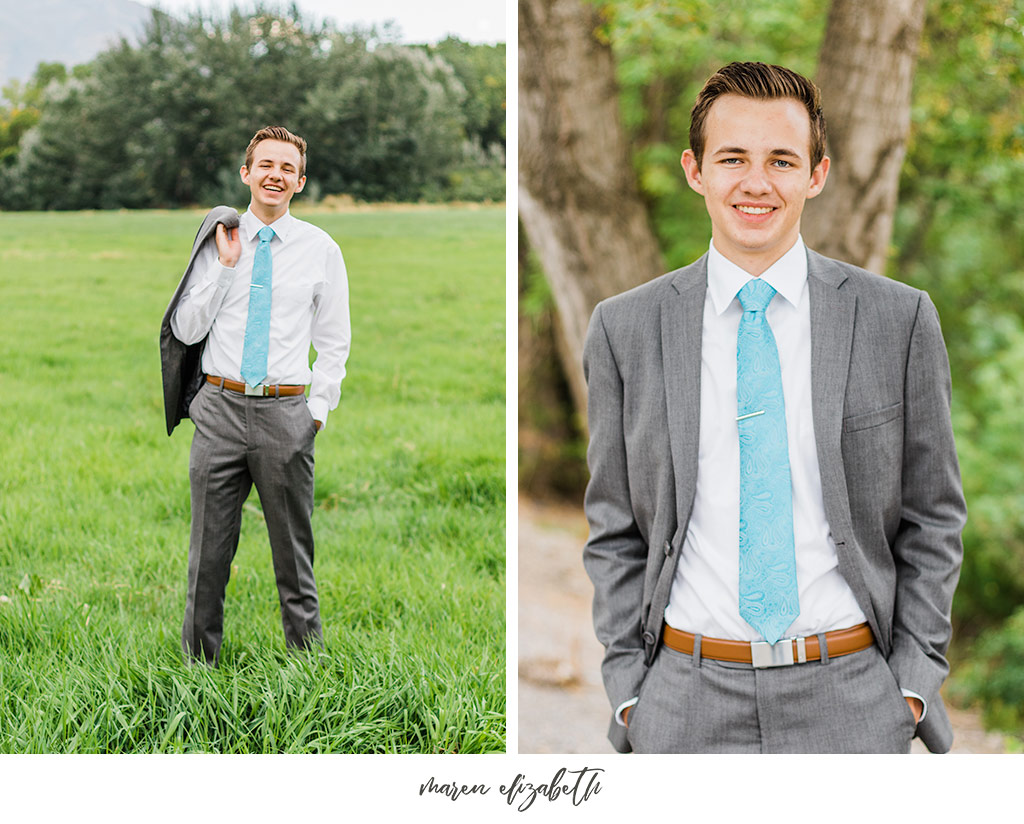 Elder missionary photos at the Lakeshore Trailhead in Provo, UT. Arizona Photographer | Maren Elizabeth Photography