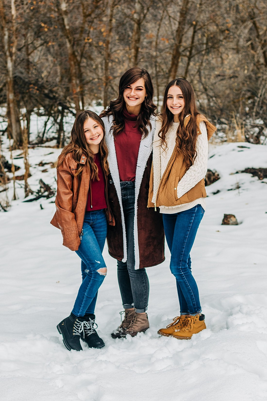 Dalton   Family Pictures in the Snow