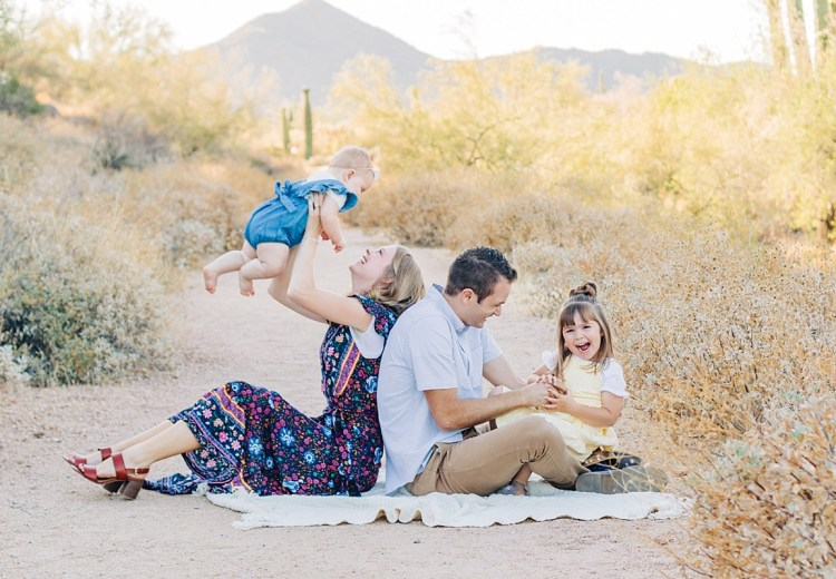 Usery Mountain Regional Park Family Pictures   East Valley Photographer