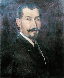 Le Professeur Antonin Marfan, portrait par Henry Bataille.