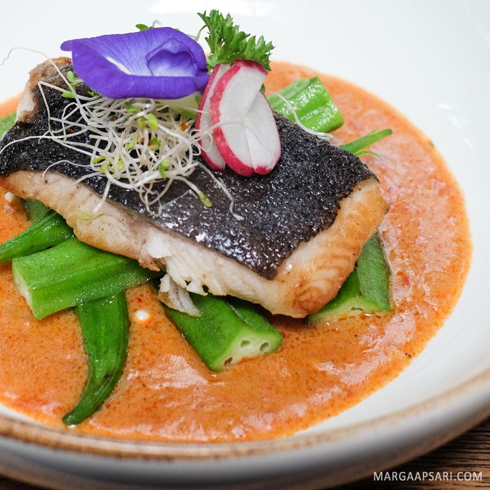 Ikan cod bumbu curry