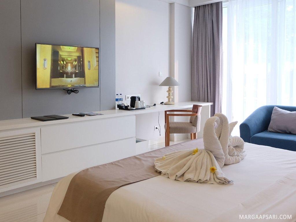 Suasana kamar Lagoon Deluxe R Rancamaya Hotel