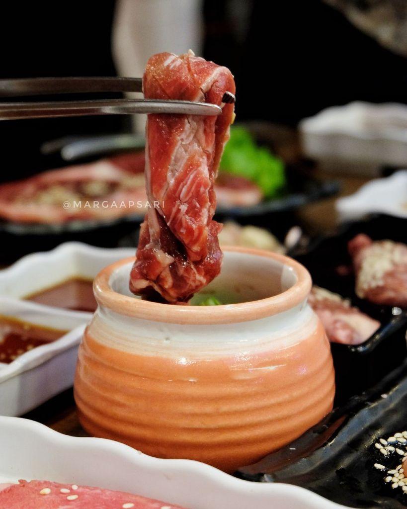 Nakaochi Beef Kintan Buffet