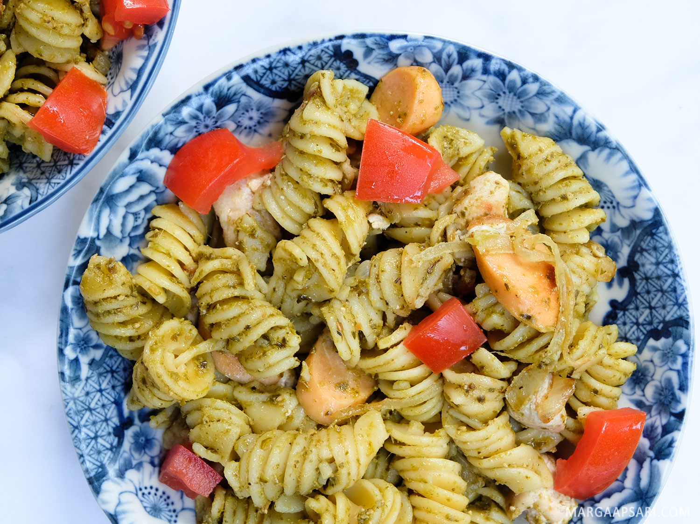 Resep Chicken Pesto Pasta Untuk Sarapan Marga S Bucket List