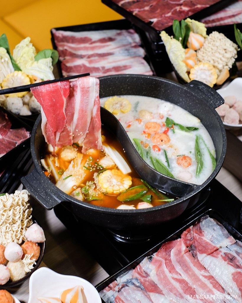 Makan di Kitamura Shabu-shabu