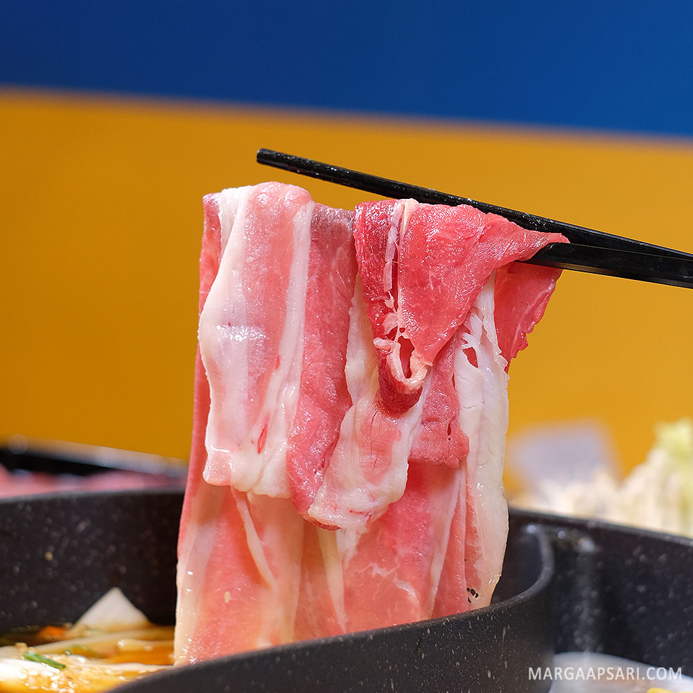 Daging US Beef Kitamura Shabu-shabu