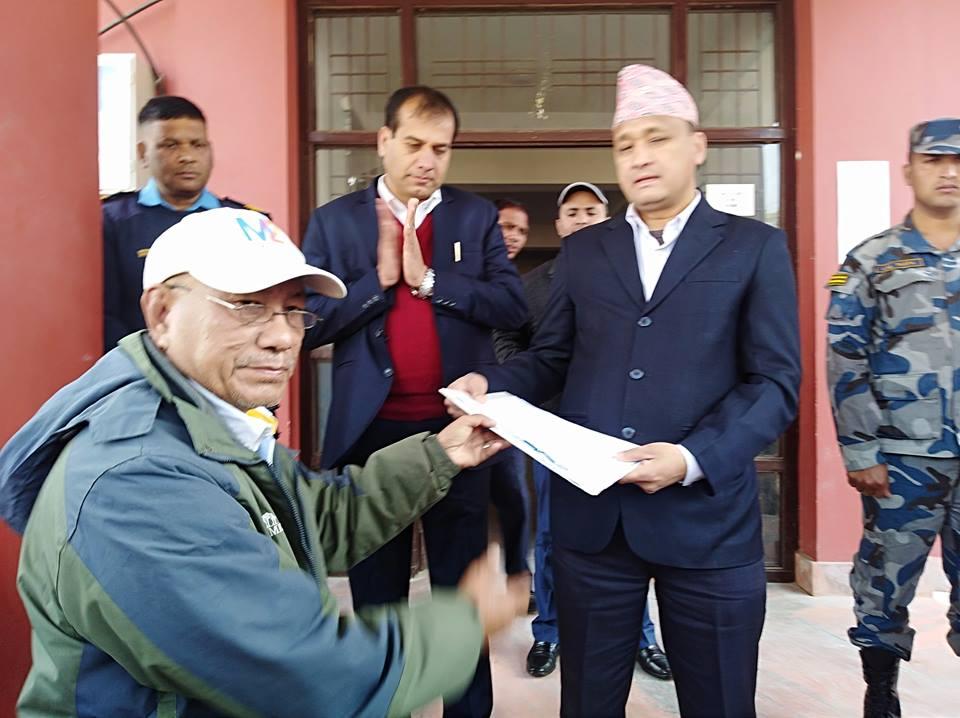 राष्ट्रिय विभूति शंखधर शाख्वाको नाममा चोकको नामाकरण र मूर्ति स्थापना गर्ने नेपाल आदिवासी जनजाति महासंघ, बाँकेलेज्ञापन पत्र बुझायो