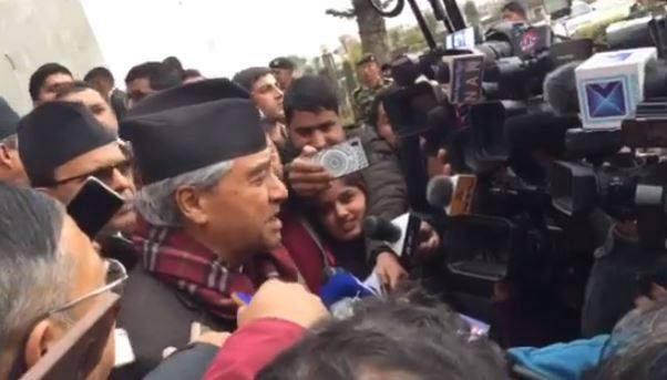 सरकार तानाशाही रुपमा अघि बढेयो सदन र सडकमा अब विरोध चर्किन्छ :नेपाली काँग्रेसका सभापति शेरबहादुर देउवा