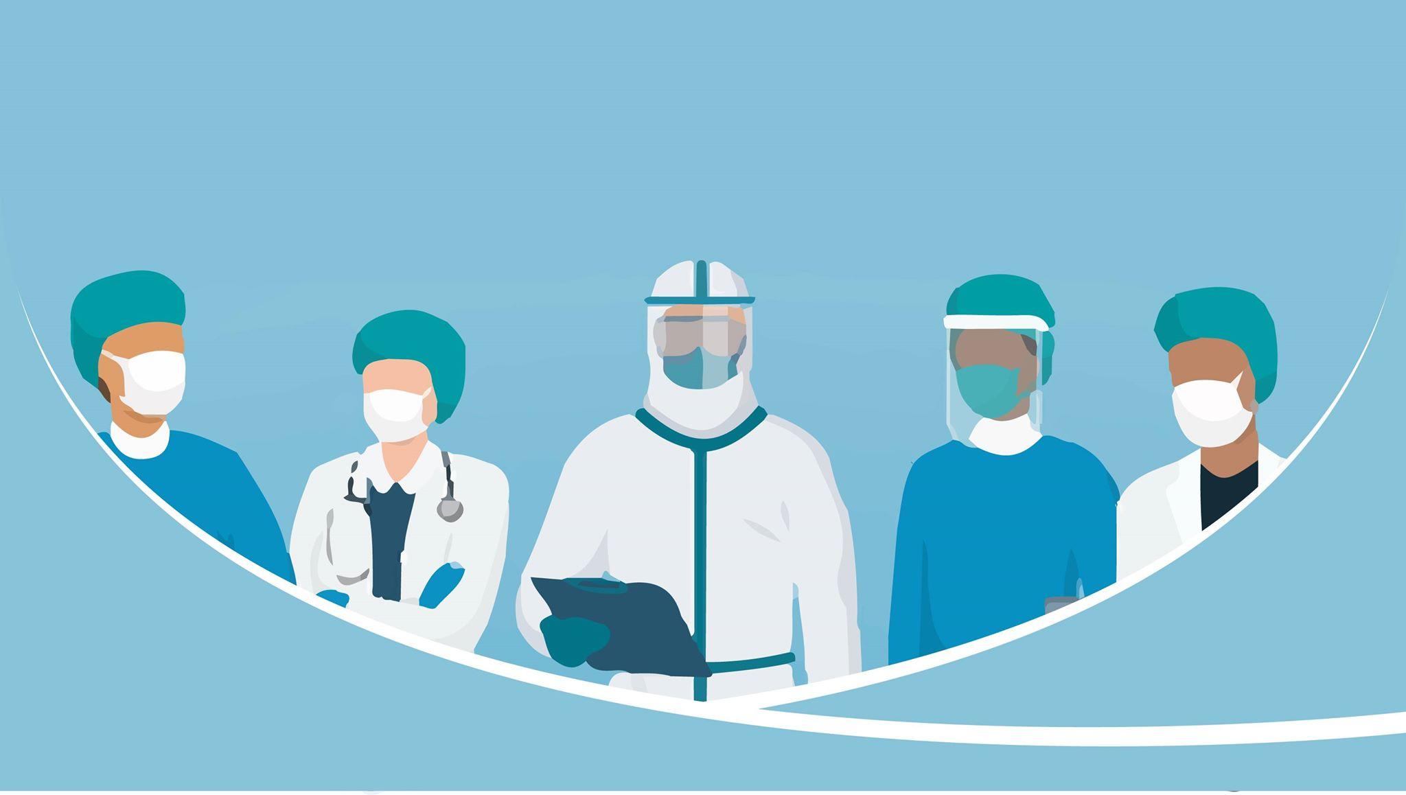 कोभिड–१९ को उपचारमा खटिएका कति स्वास्थ्यकर्मी तथा चिकित्सक संक्रमित भए