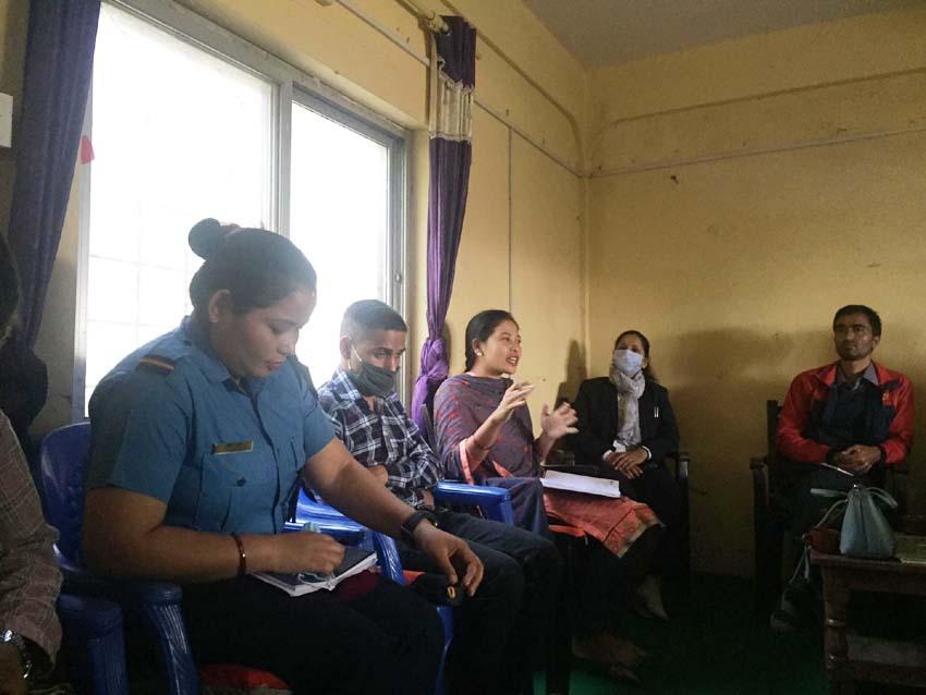 बाल हिंसा रोक्न नगर स्तरीय टाक्स फोर्स गठन गर्ने कोहलपुर नगरपालिकाका उप-प्रमुख सञ्जु कुमारी थारु