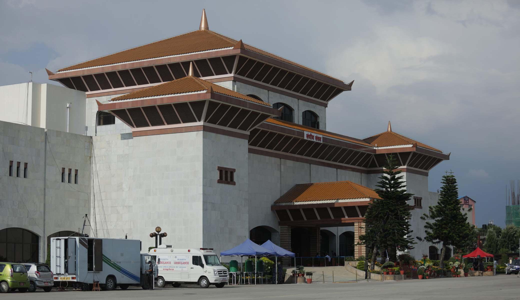 प्रधानमन्त्री केपी शर्मा ओलीले संसद विघटन गर्न सिफारिस गरे