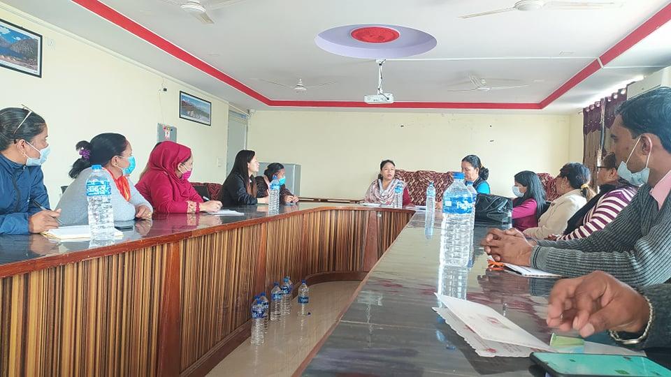 अन्तर्राष्ट्रिय महिला (नारी) दिवस भब्य रूपमा मनाउन नेपालगञ्ज उपमहानगरपालिका बैठक