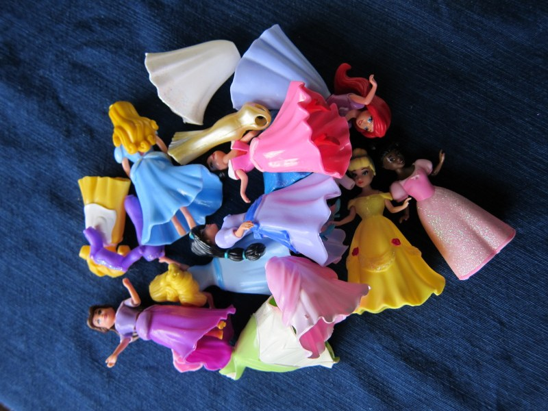 Craft project – Storage box for the princesses