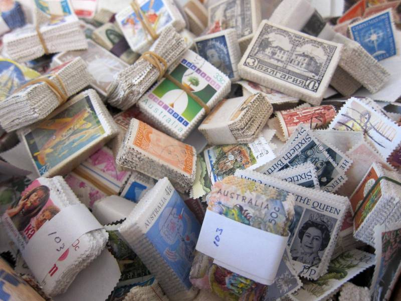 A Whole lot of stamps