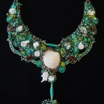 Margaretha Stramecki - Watercolors and Beaded Jewelry 85331