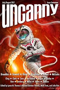 Issue cover of Uncanny Magazine Issue 17
