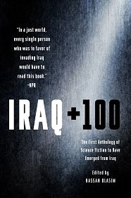 Book Cover for Iraq + 100 edited by Hasan Blasim