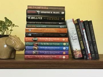Stack of Catherynne M. Valente Books