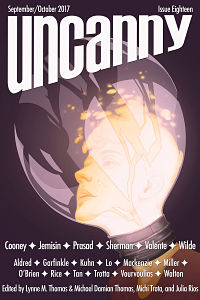 Cover for Uncanny Magazine Issue 18