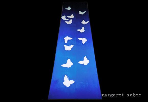 Witjes wade van Margaret Sabee Weefkunst Den Haag