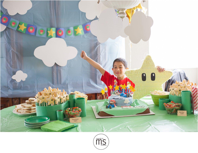 Mario Amp Luigi Dream Team Birthday Party