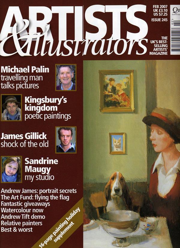 Photo: magazine tearsheet, celebrity photographer, London, editorial portraits