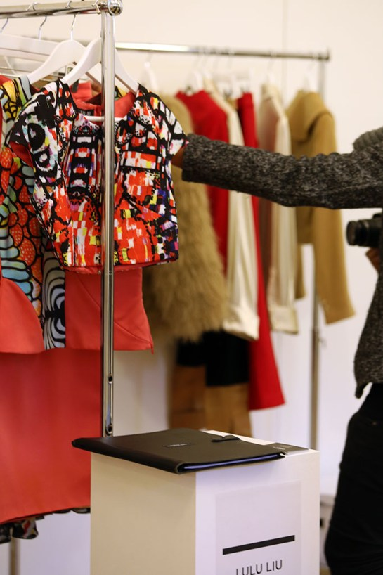 Fashion Scout Exhibition, Designer Claudia Ligari by Margaret Yescombe Photographers London