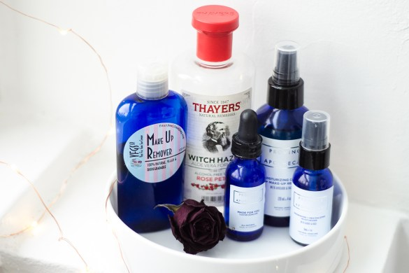 natural winter skincare routine