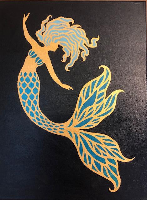 Graceful Mermaid